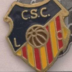 Coleccionismo deportivo: PIN FUTBOL - BARCELONA - LES CORTS - CS CATALUNYA LES CORTS. Lote 292286778