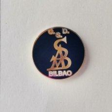 Coleccionismo deportivo: PIN DE FÚTBOL... CLUB DEPORTIVO SORDOS... BILBAO VIZCAYA. Lote 293446308