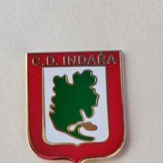 Coleccionismo deportivo: PIN DE FÚTBOL... CLUB DEPORTIVO INDARA... ARRANKUDIAGA VIZCAYA. Lote 293446708