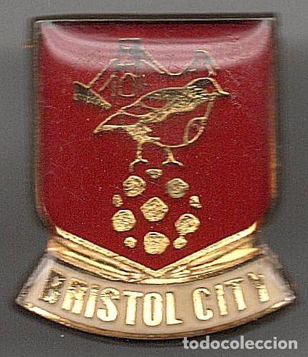 PINS EQUIPOS FUTBOL DEL MUNDO BRISTOL CITY (IK) (Coleccionismo Deportivo - Pins de Deportes - Fútbol)