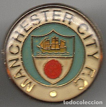 PINS EQUIPOS FUTBOL DEL MUNDO MANCHESTER CITY FC (IK) (Coleccionismo Deportivo - Pins de Deportes - Fútbol)