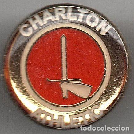 PINS EQUIPOS FUTBOL DEL MUNDO CHARLTON ATHLETIC (IK) (Coleccionismo Deportivo - Pins de Deportes - Fútbol)
