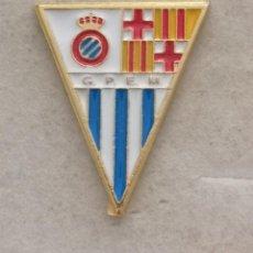 Coleccionismo deportivo: PIN FUTBOL - BARCELONA - GRAN PENYA ESPANYOLISTA MANIGUA. Lote 293859593