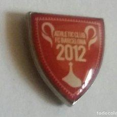 Coleccionismo deportivo: ATHLETIC CLUB BILBAO PIN MOTIVO FINAL DE COPA 2012 2°. Lote 297165858