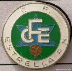 Coleccionismo deportivo: PIN FUTBOL - BARCELONA - CF ESTRELLA. Lote 297166943