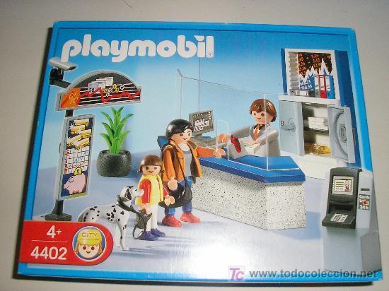 PLAYMOBIL REF: 4402 - VENTANILLA BANCO - NUEVO A ESTRENAR (Juguetes - Playmobil)
