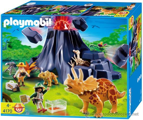 Playmobil dinosaurios ref 4170 nuevo sin abr comprar for Playmobil dinosaurios