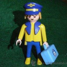 Playmobil: PILOTO DE AVION - (REDUCE GASTOS COMPRANDO MAS ARTICULOS PLAYMOBIL) . Lote 26940616