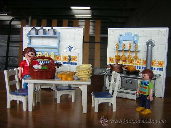 playmobil cocina casa victoriana 5317 famobil vendido