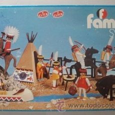 Playmobil: FAMOBIL PLAYMOBIL REF. 3406 SIETE INDIOS.. Lote 15960387
