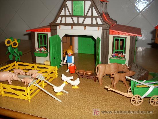 Granja de playmobil comprar playmobil en todocoleccion for La granja de playmobil precio