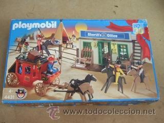 CAJA DE PLAYMOBIL-- VER FOTOS (Juguetes - Figuras de Acción - Playmobil)