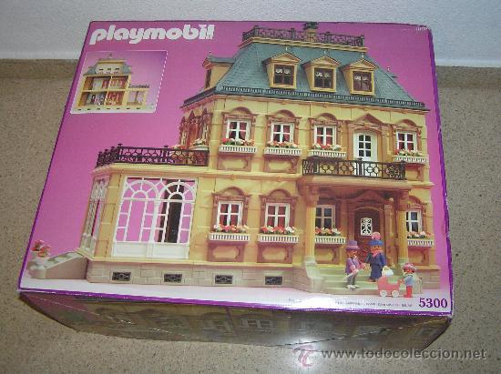 Playmobil victoriano 5300 casa victoriana versi comprar for Casa playmobil precio