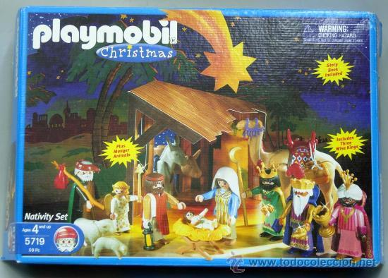 Playmobil christmas belen nacimiento ref 5719 comprar for Amazon figuras belen