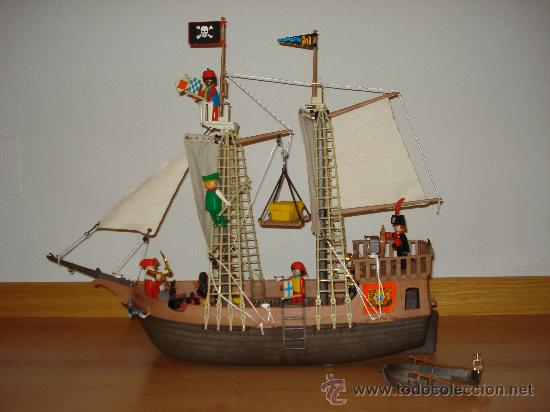 Playmobil barco pirata ref 3550 comprar playmobil en for Barco pirata playmobil
