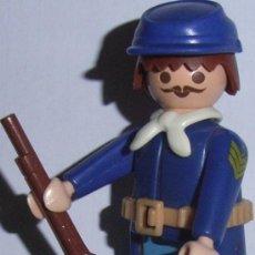 Playmobil: LOTE PLAYMOBIL - NORDISTAS / YANKIS/DE LA UNION - SOLDADO/OFICIAL/GENERAL (AHORRA GASTOS COMPRA MAS). Lote 27608168