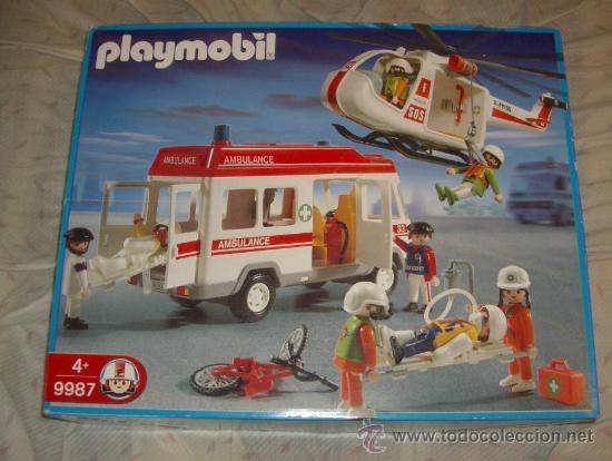 CAJA 9987 DE PLAYMOBIL,AÑO 2003 (Juguetes - Playmobil)