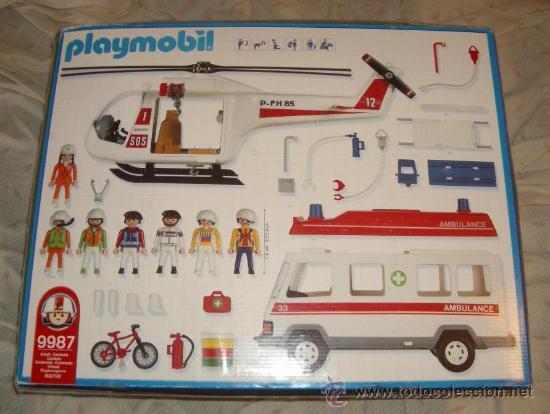 Playmobil: CAJA 9987 DE PLAYMOBIL,AÑO 2003 - Foto 2 - 88959094