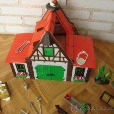 Playmobil: GRANJA DE PLAYMOBIL COMPLETA AÑOS 90 ESCASA RARA 3716. Lote 26714360
