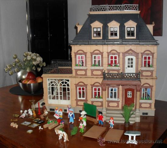 Playmobil mansion vitoriana ref 5300 comprar playmobil for Mansion de playmobil