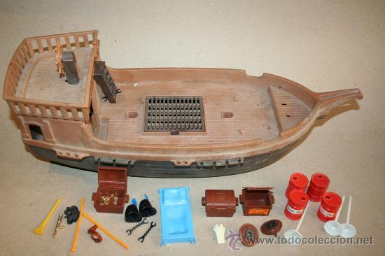 Barco pirata playmobil famobil a os 70 y piezas comprar for Barco pirata playmobil