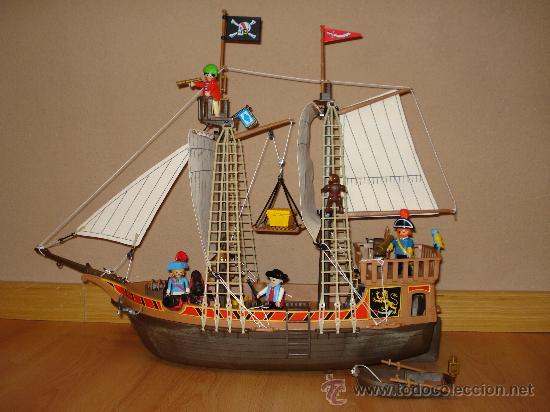Playmobil barco pirata referencia 3750 comprar for Barco pirata playmobil