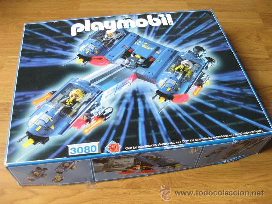 Nave espacial playmobil 3080 en caja starship comprar for Nave espacial playmobil