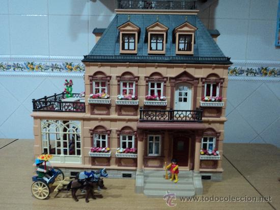 Playmobil casa victoriana ref 5300 con muebles comprar for Casa playmobil precio