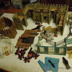 Playmobil: LOTE DE CASTILLO Y OTROS DE FAMOBIL GEOBRA 1976-77. Lote 46004142
