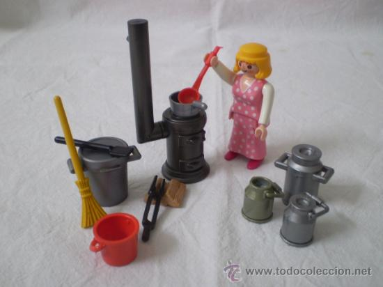 Playmobil escena victoriana con accesorios coci comprar for Accesorios cocina online