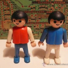 Playmobil: LOTE 2 FIGURAS PLAYMOBIL GEOBRA 1981. Lote 26650881