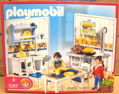 playmobil 5317 cocina mansi n y casa victoriana vendido
