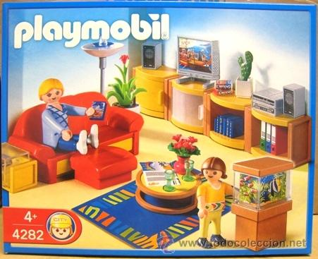 Playmobil 4282 sal n casa moderna nuevo en caj comprar for Casa moderna de playmobil 123