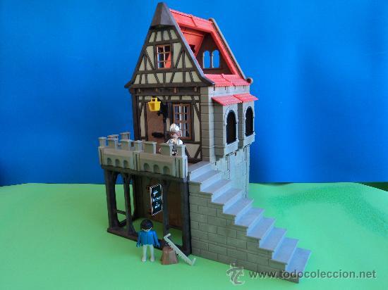 Playmobil playmobil casa medieval portico comprar for Casa playmobil precio