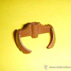 Playmobil: PLAYMOBIL - BARBA - PATILLAS MARRONES - PELO. Lote 161079824