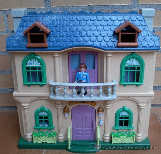 Casa pl stico mu ecas tama o playmobil comprar playmobil for Casa playmobil precio