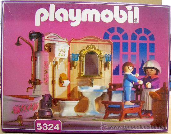 Ultima unidad ¡¡ playmobil 5324 cuarto de baño - Vendido ...