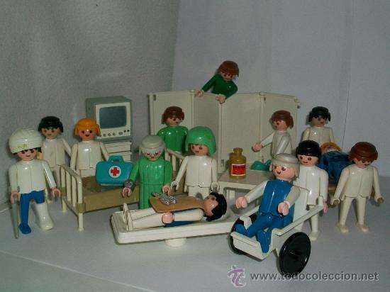Playmobil famobil hospital enfermeria q comprar for Hospital de playmobil