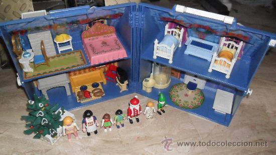 Playmobil espectacular casa maletin de nav comprar for Casa maletin playmobil