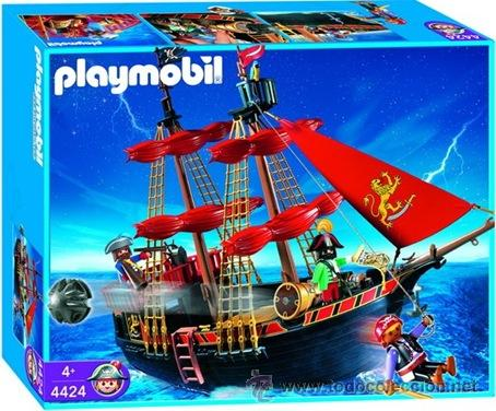 Playmobil 4424 barco pirata barba negra comprar for Barco pirata playmobil