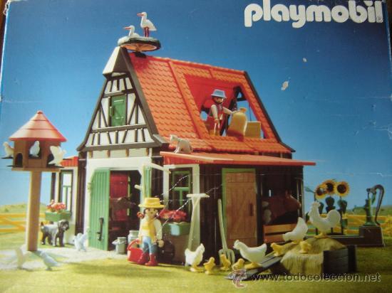 Antigua granja playmobil famobil completa y e comprar for La granja de playmobil precio