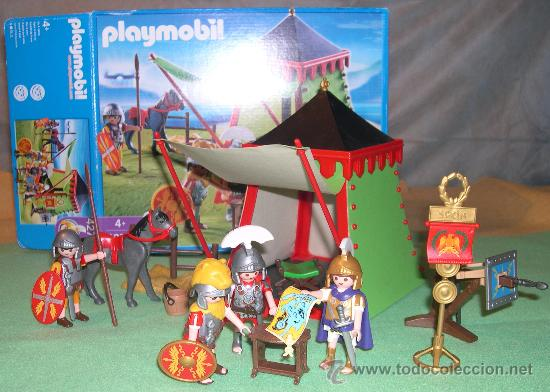 Playmobil campamento romano ref 4273 comprar for Playmobil segunda mano