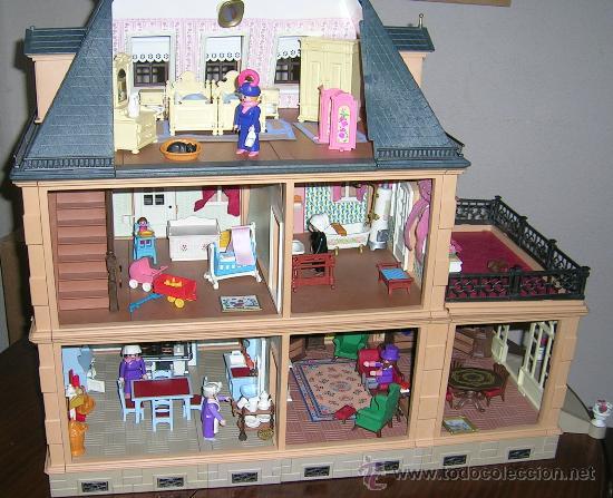 Casa victoriana playmobil amueblada ref 5300 comprar for Casa playmobil precio