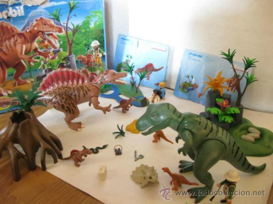 Playmobil de dinosaurios 4174 en caja y restos comprar for Playmobil dinosaurios