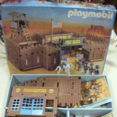 Playmobil: ANTIGUA CAJA FORT BRAVO DE PLAYMOBIL REF. 3773. Lote 30909682