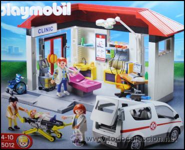 Playmobil 5012 vida urbana hospital caja nueva comprar for Hospital de playmobil
