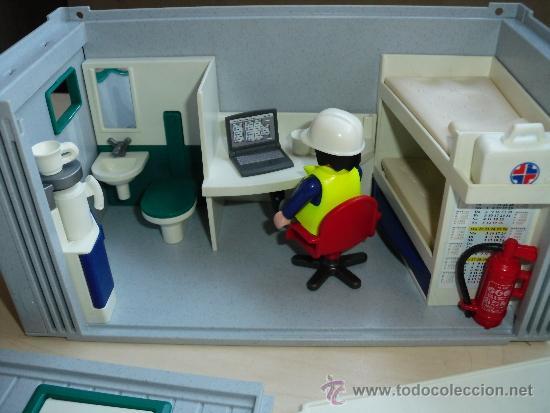 Playmobil caseta oficina de obra construccion c comprar for Mi oficina directa