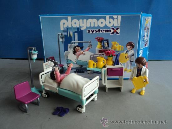 Playmobil ref 3980 hospital completo comprar playmobil for Hospital de playmobil