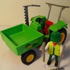 Playmobil: PLAYMOBIL TRACTOR GRANJA 3074 FAMOBIL - PLAYMOBIL. Lote 31748444