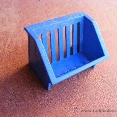 Playmobil: PLAYMOBIL COMEDERO ANIMALES AZUL. Lote 32031053